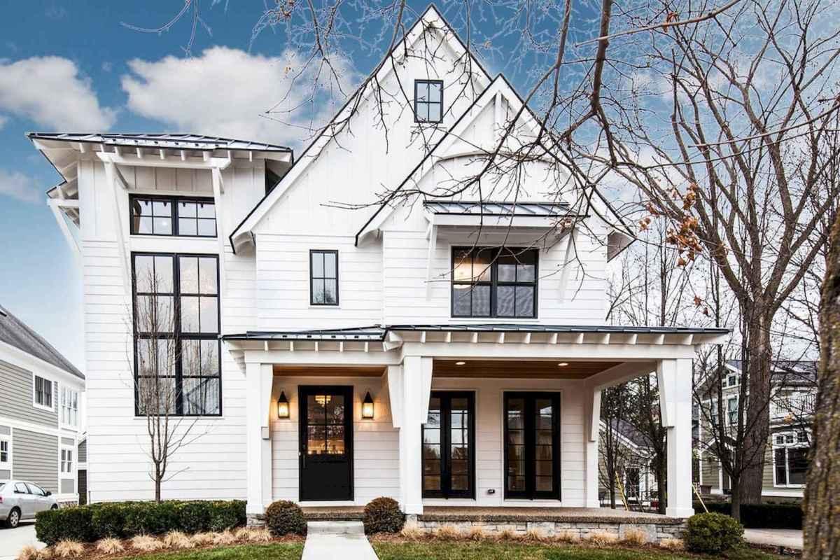 130 Stunning Farmhouse Exterior Design Ideas (4)