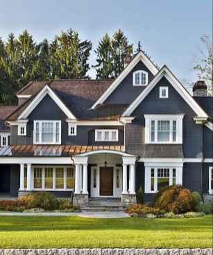 130 Stunning Farmhouse Exterior Design Ideas (47)