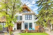 130 Stunning Farmhouse Exterior Design Ideas (68)