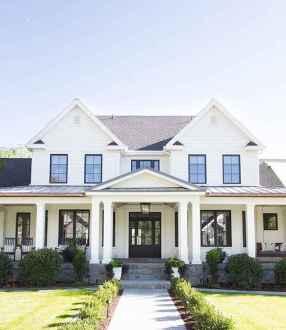 130 Stunning Farmhouse Exterior Design Ideas (70)