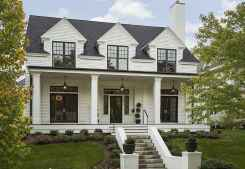 130 Stunning Farmhouse Exterior Design Ideas (87)