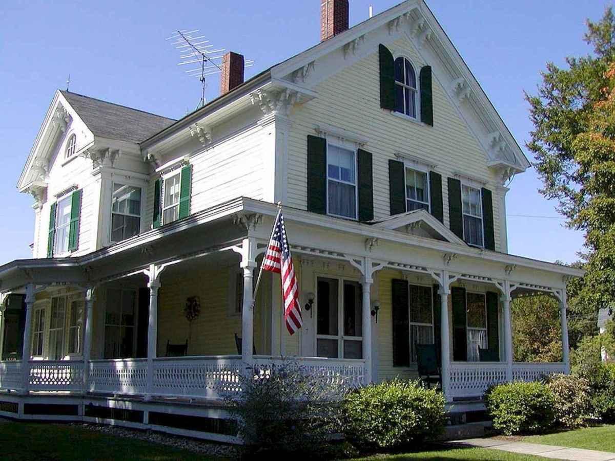 130 Stunning Farmhouse Exterior Design Ideas (9)