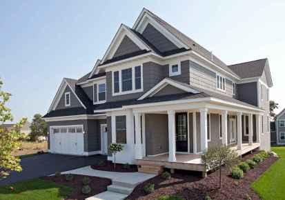 130 Stunning Farmhouse Exterior Design Ideas (98)