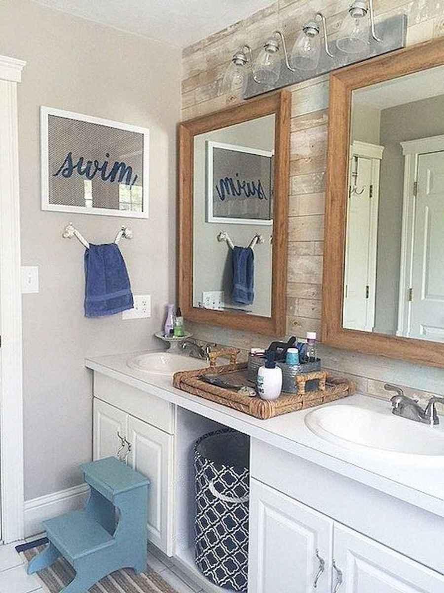 30 Amazing Coastal Nautical Bathroom Remodel Ideas (2)