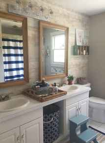 30 Amazing Coastal Nautical Bathroom Remodel Ideas (5)