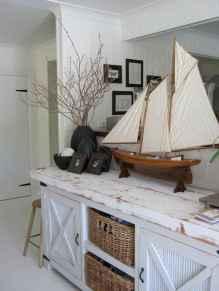 30 Amazing Coastal Nautical Bathroom Remodel Ideas (7)