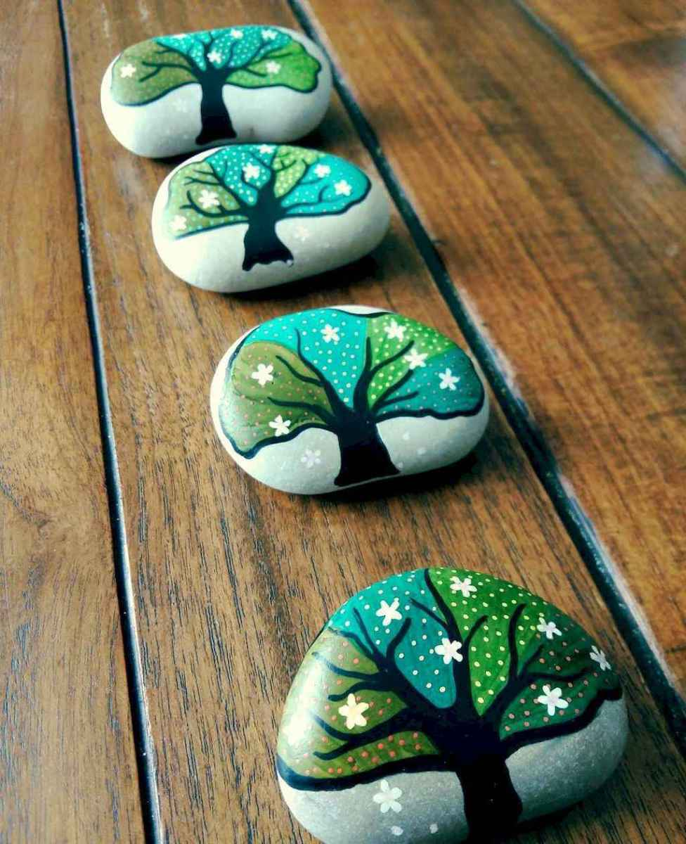 50 DIY Painted Rock Ideas for Your Home Decoration (14)
