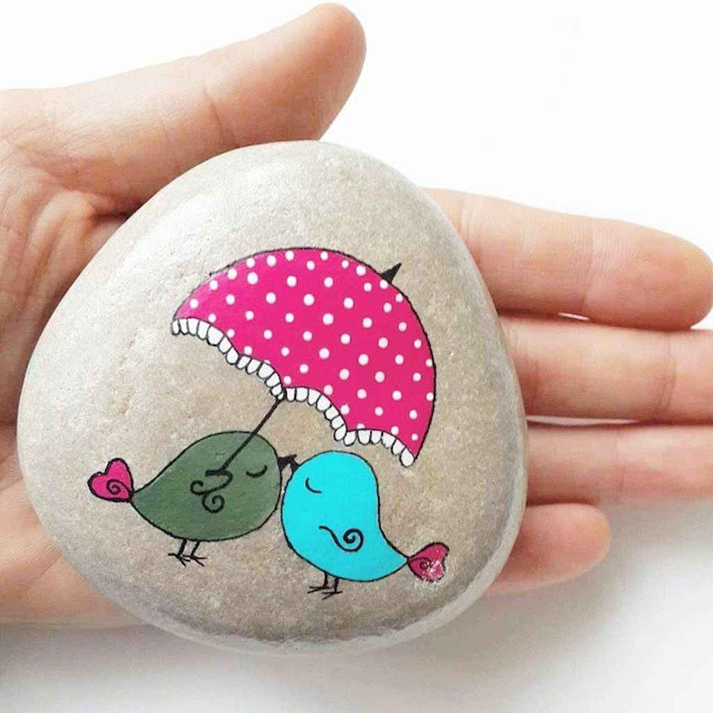 50 DIY Painted Rock Ideas for Your Home Decoration (17)