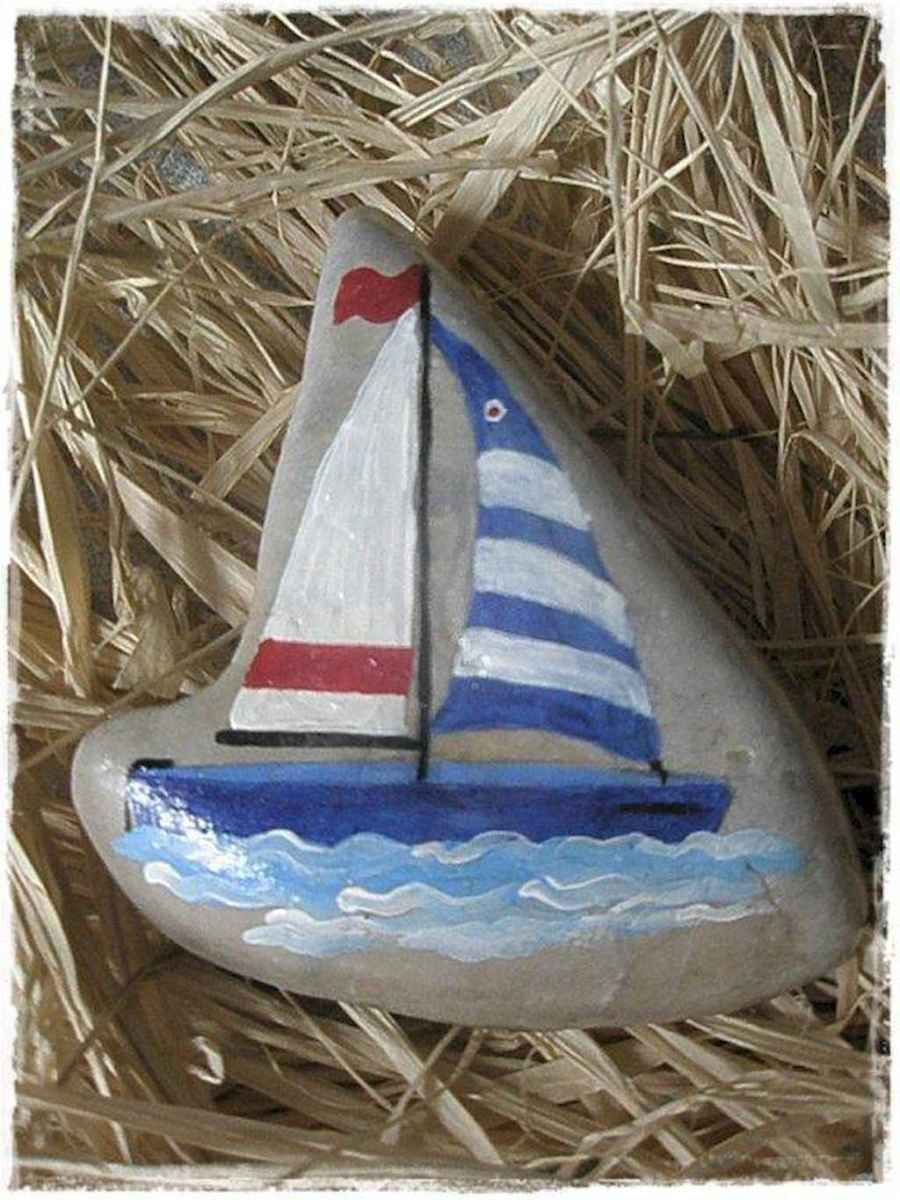 50 DIY Painted Rock Ideas for Your Home Decoration (26)