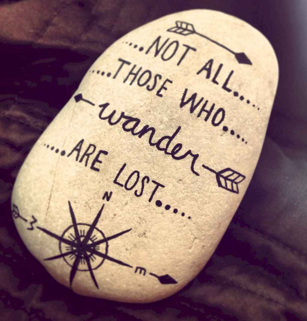 50 DIY Painted Rock Ideas for Your Home Decoration (31)