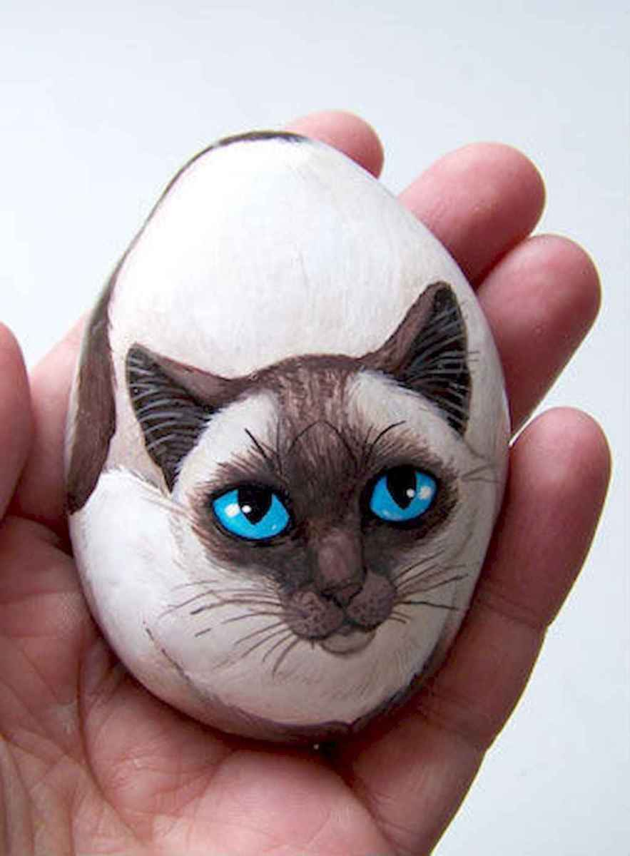 50 DIY Painted Rock Ideas for Your Home Decoration (43)