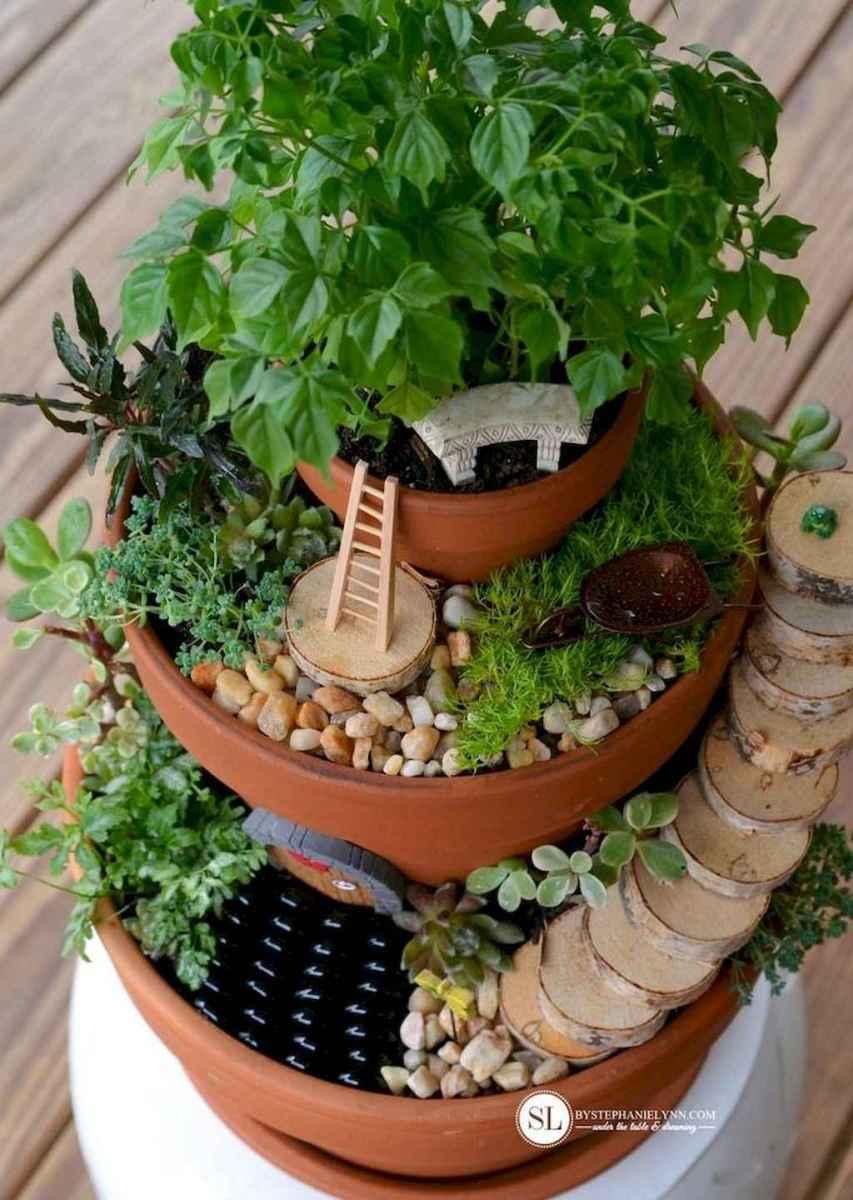 50 Easy DIY Fairy Garden Design Ideas (32)