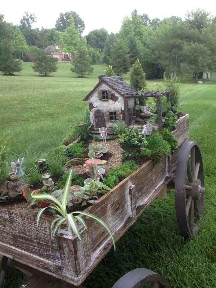 50 Easy DIY Fairy Garden Design Ideas (45)