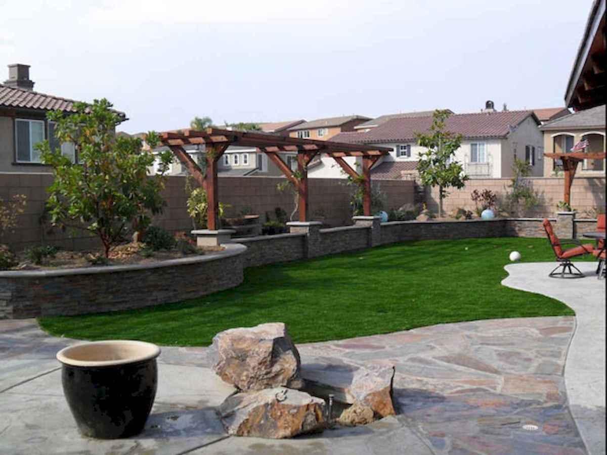 60 Fresh Backyard Landscaping Design Ideas on A Budget (59)