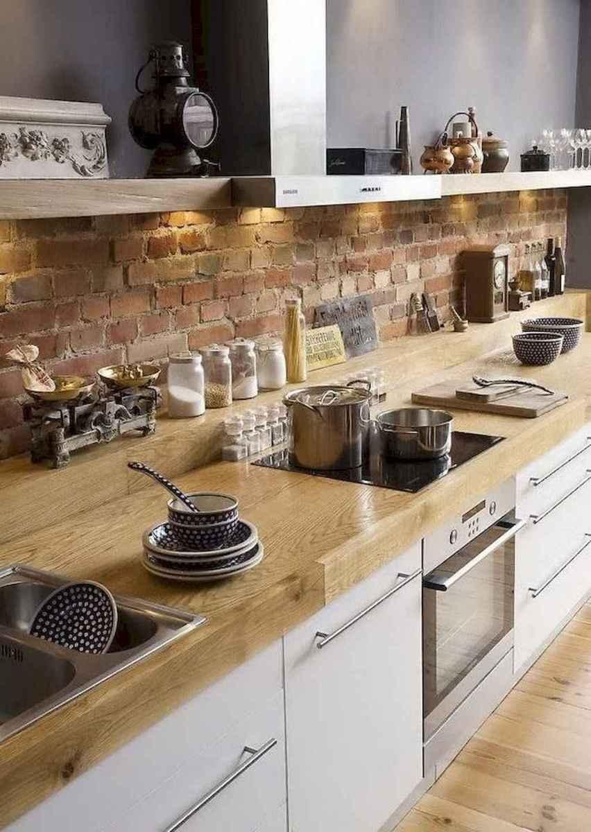 60 Inspiring Rustic Kitchen Decorating Ideas (17)