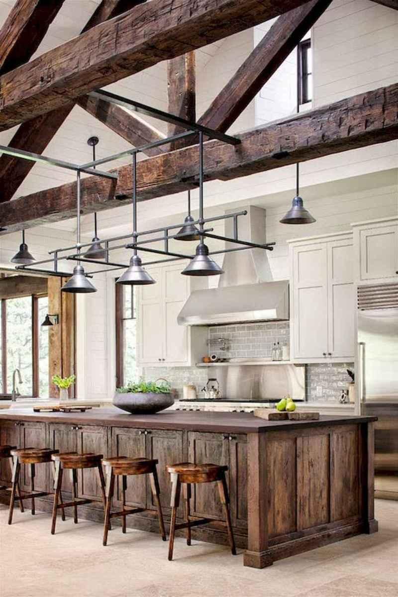 60 Inspiring Rustic Kitchen Decorating Ideas (45)