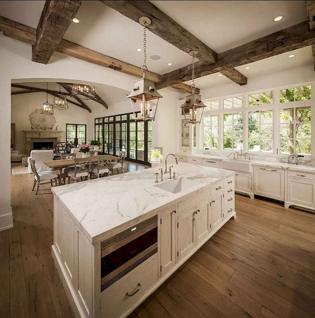 60 Inspiring Rustic Kitchen Decorating Ideas (59)