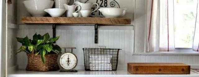 60 Inspiring Rustic Kitchen Decorating Ideas (60)