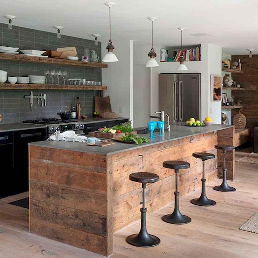 60 Inspiring Rustic Kitchen Decorating Ideas (7)