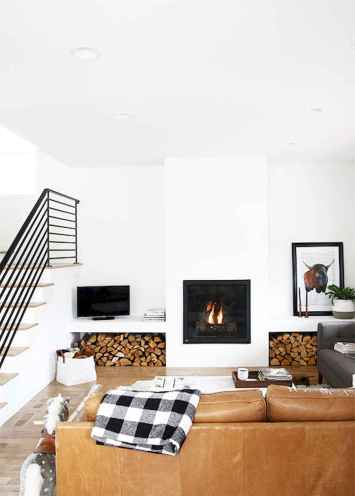 60 Modern Farmhouse Living Room First Apartment Ideas (10)
