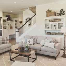 60 Modern Farmhouse Living Room First Apartment Ideas (16)