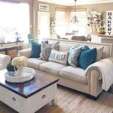 60 Modern Farmhouse Living Room First Apartment Ideas (32)