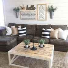 60 Modern Farmhouse Living Room First Apartment Ideas (34)