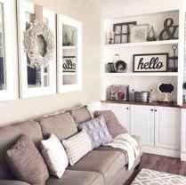 60 Modern Farmhouse Living Room First Apartment Ideas (46)