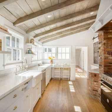 120 Modern Rustic Farmhouse Kitchen Decor Ideas (42)