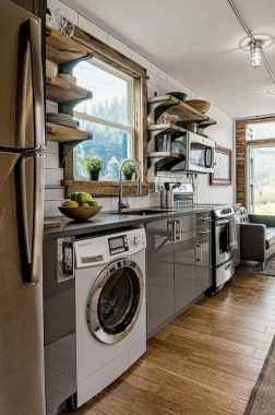 120 Modern Rustic Farmhouse Kitchen Decor Ideas (43)