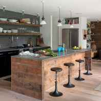 120 Modern Rustic Farmhouse Kitchen Decor Ideas (48)