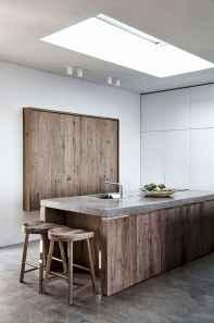 120 Modern Rustic Farmhouse Kitchen Decor Ideas (50)