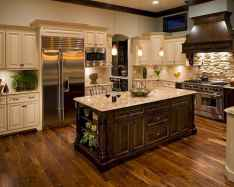 120 Modern Rustic Farmhouse Kitchen Decor Ideas (55)