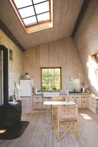 120 Modern Rustic Farmhouse Kitchen Decor Ideas (72)