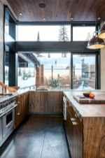 120 Modern Rustic Farmhouse Kitchen Decor Ideas (76)