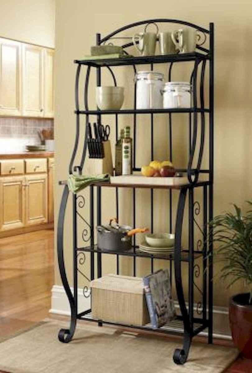 50 Smart Solution Standing Rack Kitchen Decor Ideas (29)