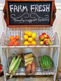 50 Smart Solution Standing Rack Kitchen Decor Ideas (32)