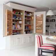 50 Smart Solution Standing Rack Kitchen Decor Ideas (47)
