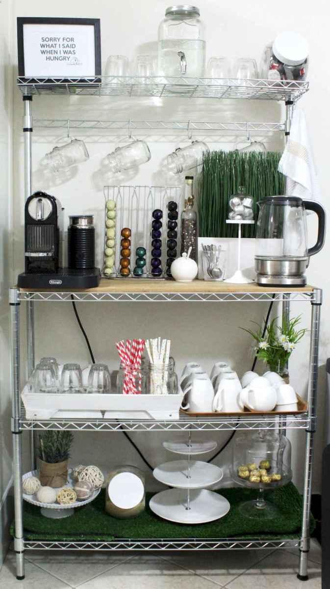 50 Smart Solution Standing Rack Kitchen Decor Ideas (48)