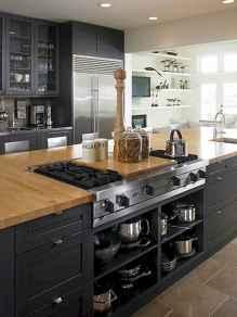 60 Black Kitchen Cabinets Design Ideas (10)