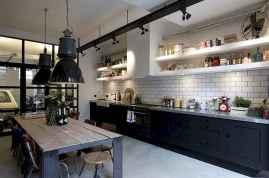 60 Black Kitchen Cabinets Design Ideas (13)