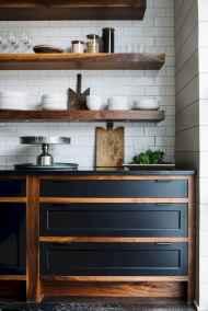 60 Black Kitchen Cabinets Design Ideas (22)