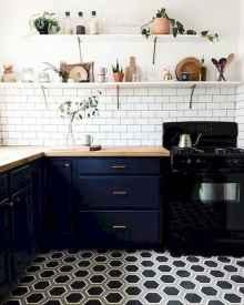 60 Black Kitchen Cabinets Design Ideas (27)