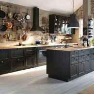 60 Black Kitchen Cabinets Design Ideas (3)