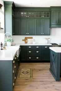 60 Black Kitchen Cabinets Design Ideas (35)