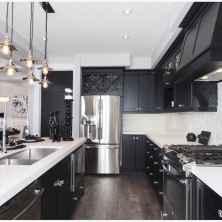 60 Black Kitchen Cabinets Design Ideas (39)