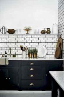 60 Black Kitchen Cabinets Design Ideas (4)