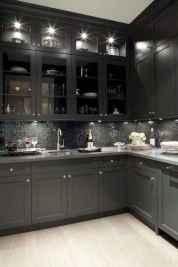 60 Black Kitchen Cabinets Design Ideas (50)