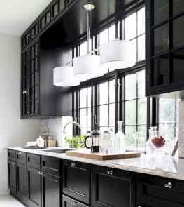 60 Black Kitchen Cabinets Design Ideas (62)