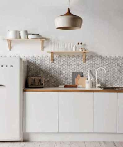 60 Glamorous Scandinavian Kitchen Decor Ideas (30)